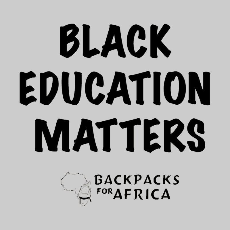 Black Education Matters Accessories Face Mask by backpacksforafrica's Artist Shop
