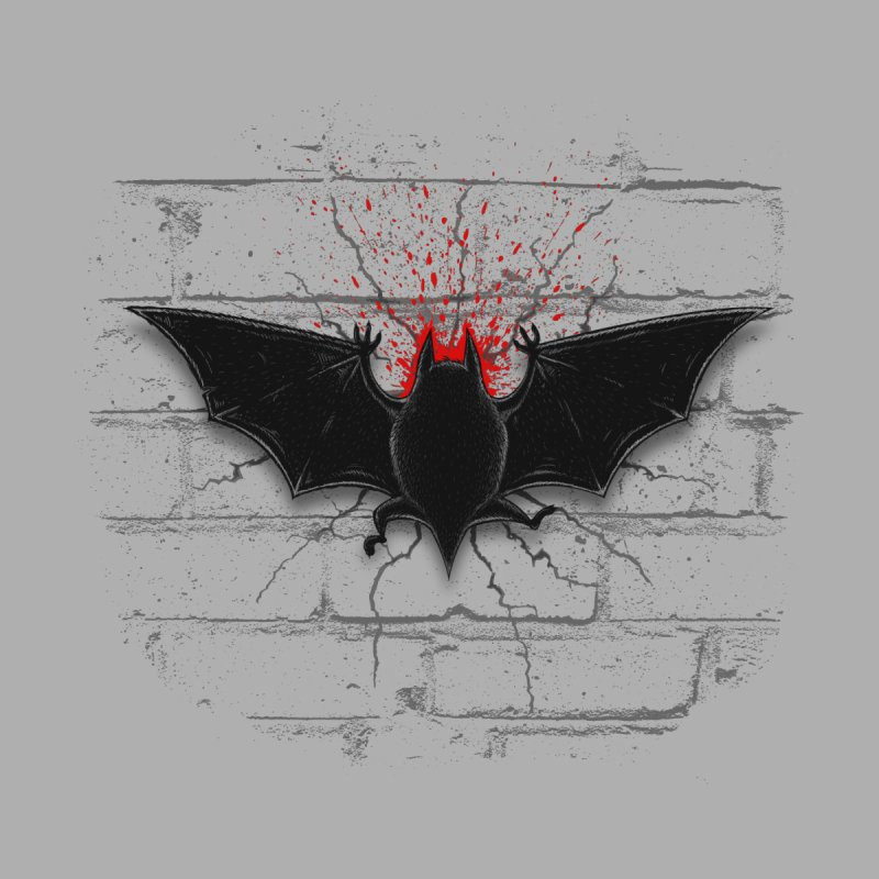 Bat Landing None  by bada's Artist Shop