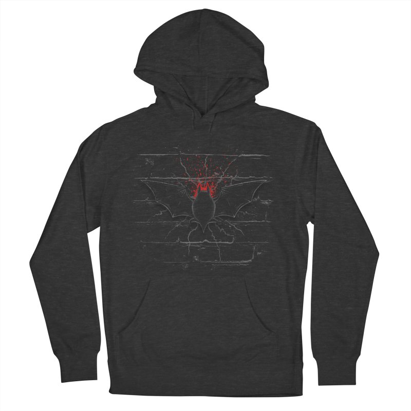 Bat Landing Women's Pullover Hoody by bada's Artist Shop