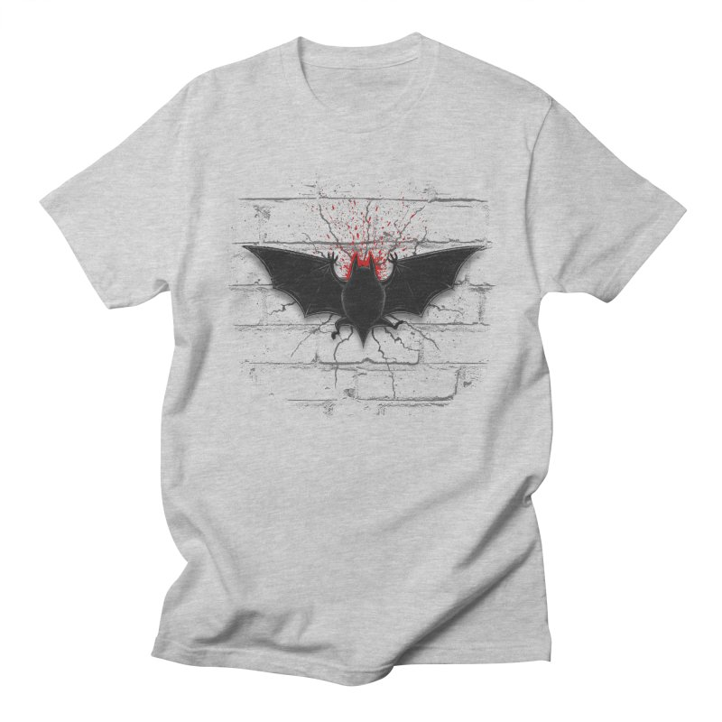 Bat Landing Men's T-Shirt by bada's Artist Shop