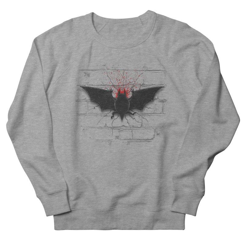 Bat Landing Women's Sweatshirt by bada's Artist Shop