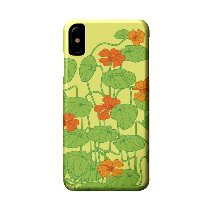 Nasturtiums Accessories Phone Case by bad arithmetic