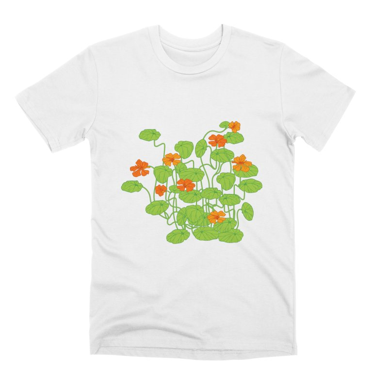 Nasturtiums Men's Premium T-Shirt by bad arithmetic