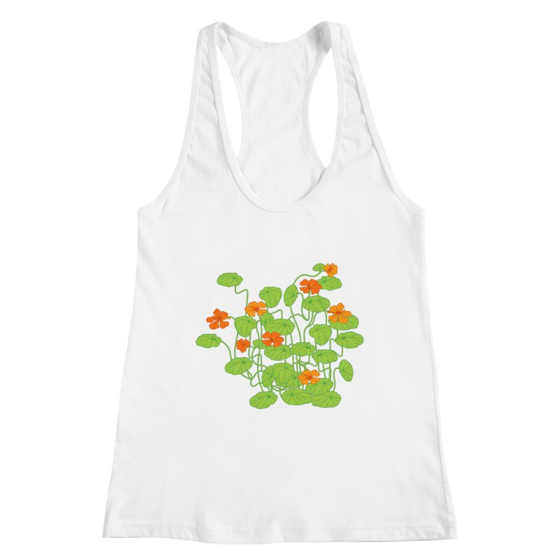Nasturtiums Women's Tank by bad arithmetic