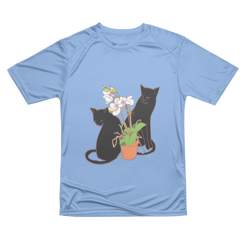 Cats & Orchid Women's Performance Unisex T-Shirt by bad arithmetic