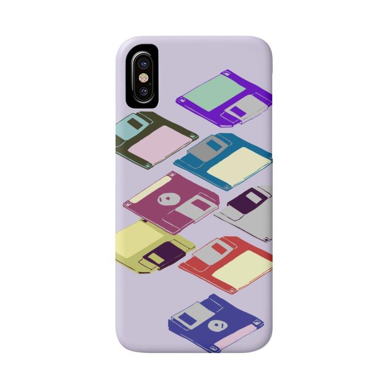 Floppy Disks Accessories Phone Case by napiform clip art
