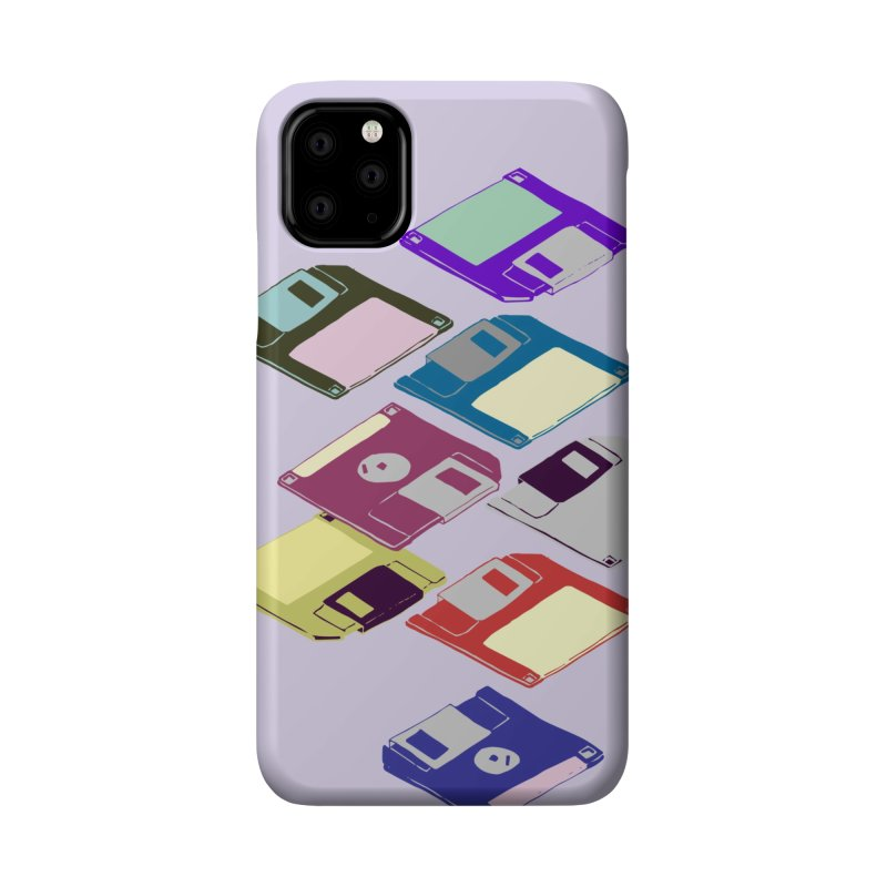 Floppy Disks Accessories Phone Case by bad arithmetic