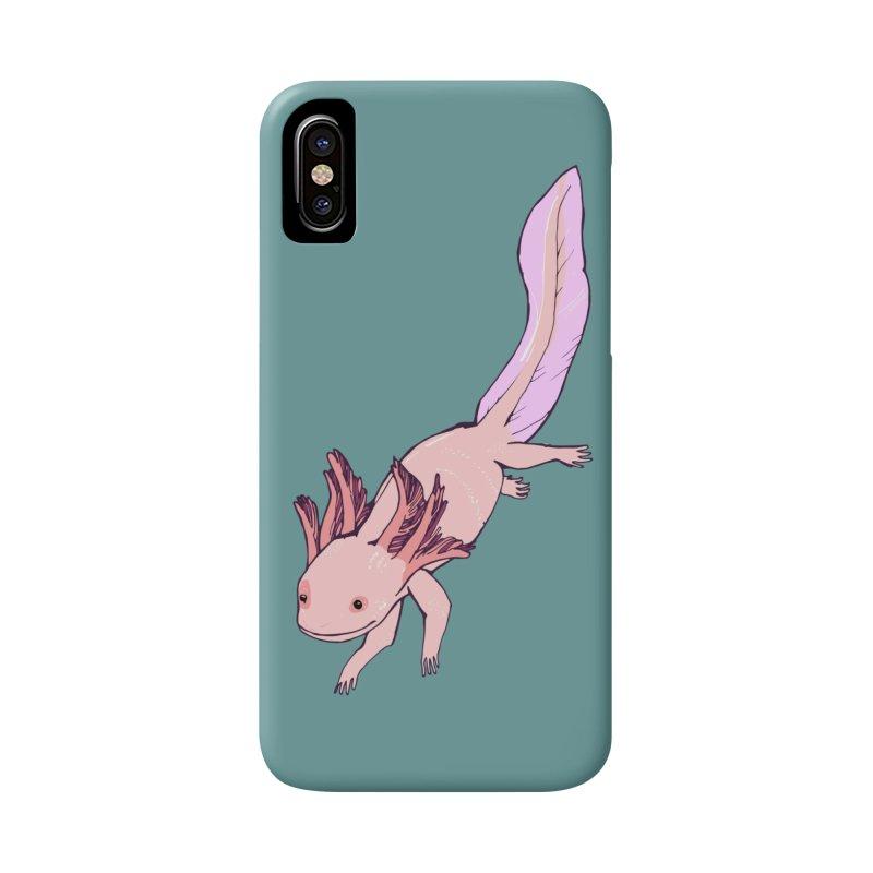 Happy Axolotls Accessories Phone Case by napiform clip art