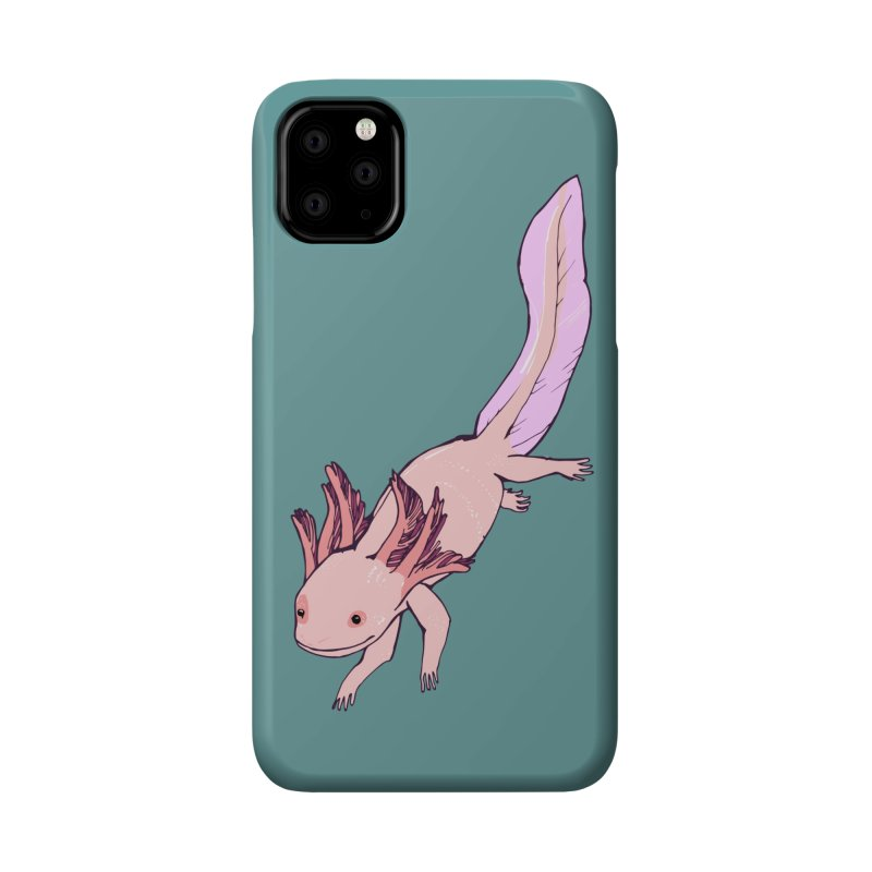 Happy Axolotls Accessories Phone Case by bad arithmetic