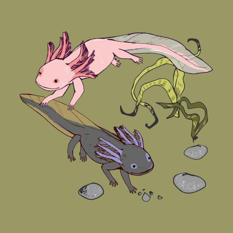 Happy Axolotls Kids Toddler Zip-Up Hoody by bad arithmetic