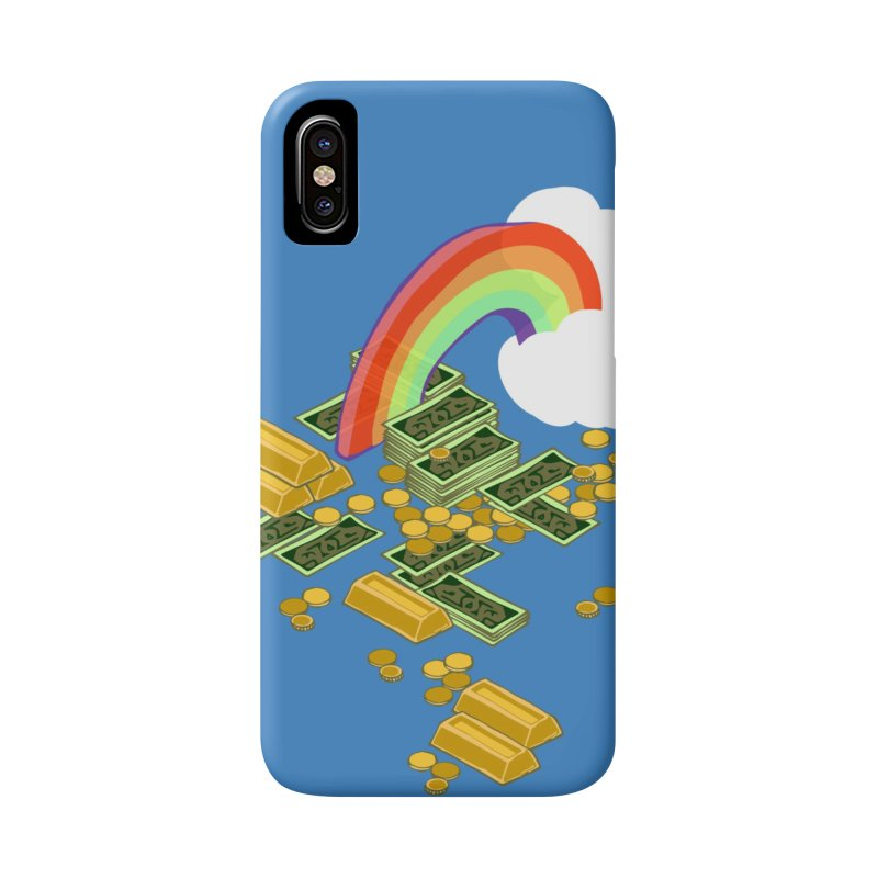 Gold at the End of the Rainbow Accessories Phone Case by napiform clip art