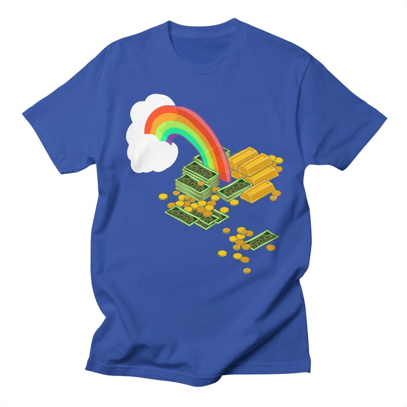 Gold at the End of the Rainbow Men's T-Shirt by bad arithmetic