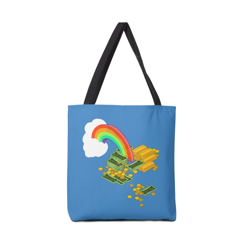 Gold at the End of the Rainbow Accessories Tote Bag Bag by napiform clip art
