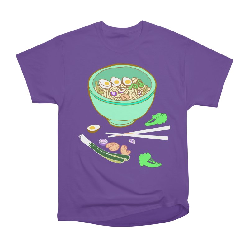 Bowl O' Noodle Women's Heavyweight Unisex T-Shirt by bad arithmetic