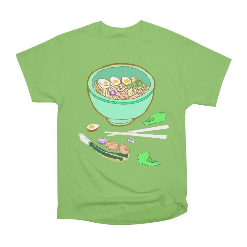 Bowl O' Noodle Men's Heavyweight T-Shirt by napiform clip art