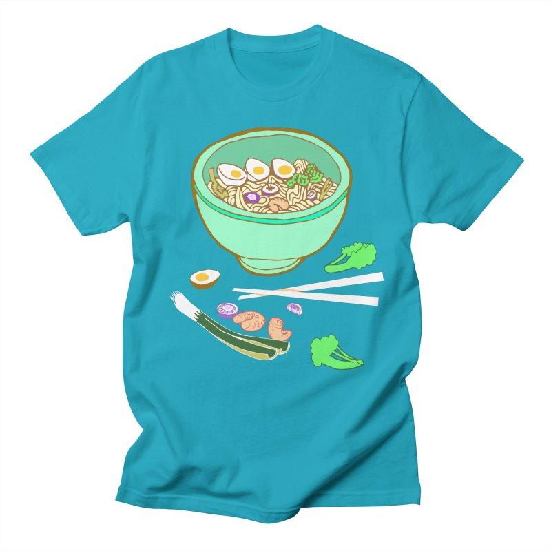 Bowl O' Noodle Men's Regular T-Shirt by bad arithmetic