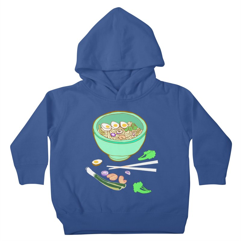 Bowl O' Noodle Kids Toddler Pullover Hoody by bad arithmetic