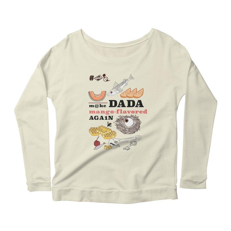 MDDMFA Women's Scoop Neck Longsleeve T-Shirt by bad arithmetic
