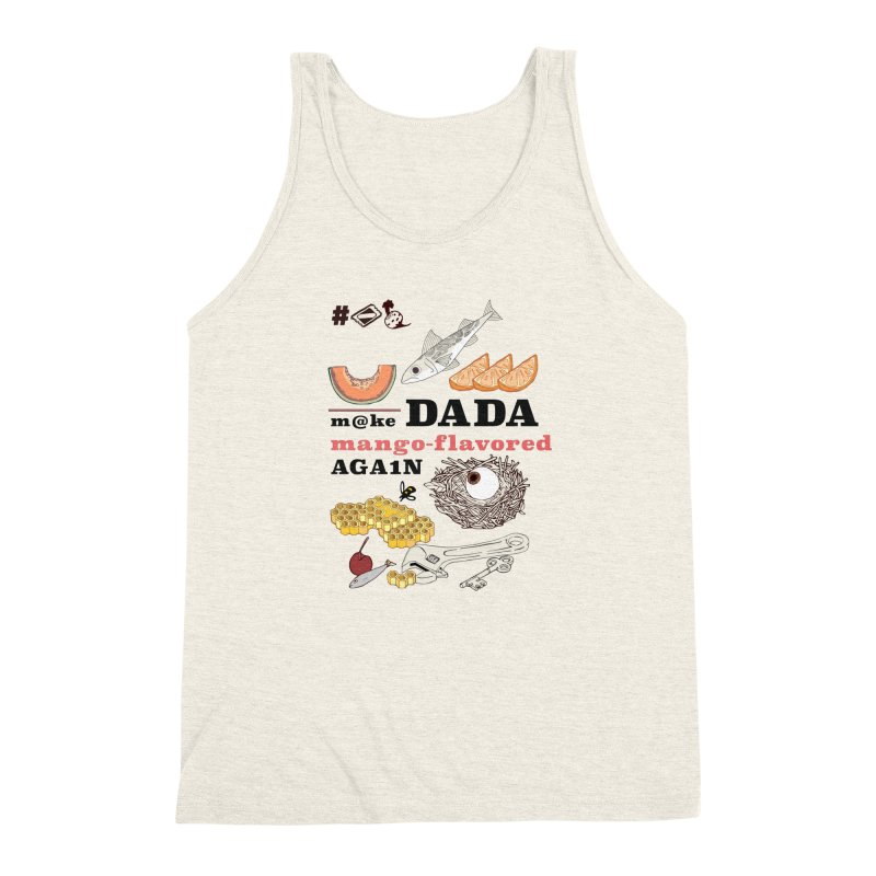 MDDMFA Men's Triblend Tank by napiform clip art