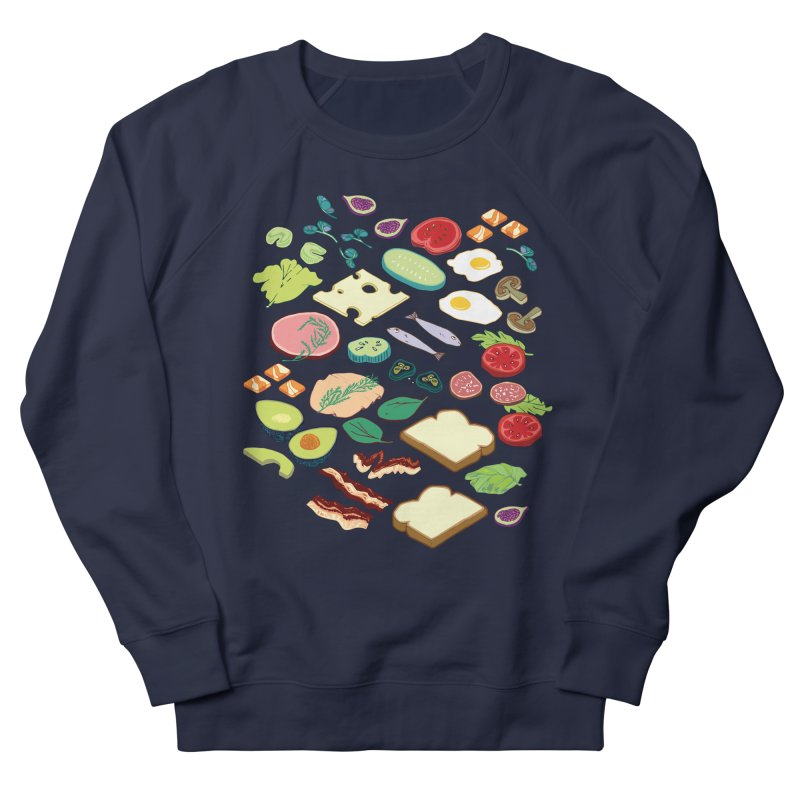 Some Assembly Required Men's French Terry Sweatshirt by bad arithmetic
