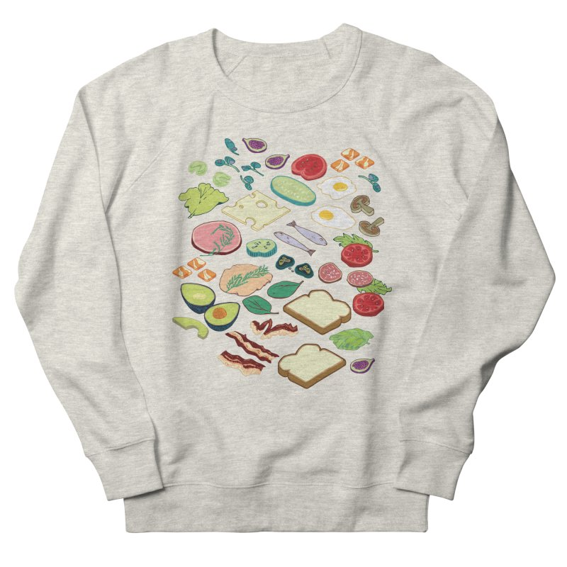 Some Assembly Required Men's French Terry Sweatshirt by napiform clip art