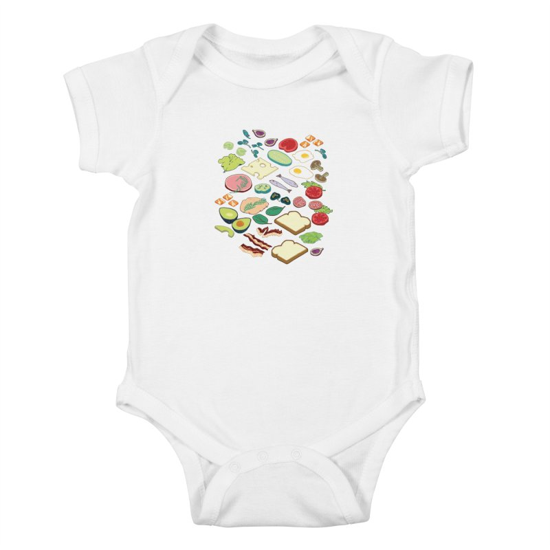 Some Assembly Required Kids Baby Bodysuit by bad arithmetic