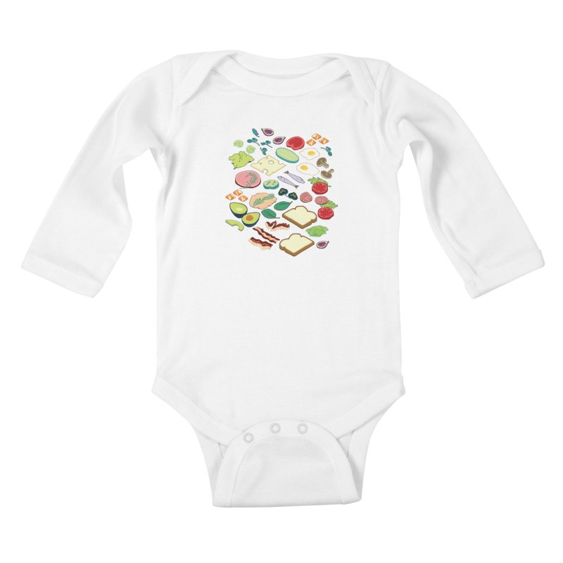 Some Assembly Required Kids Baby Longsleeve Bodysuit by bad arithmetic