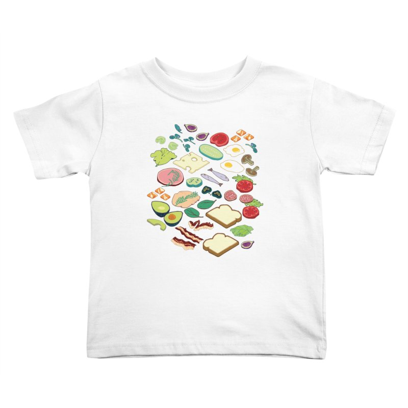 Some Assembly Required Kids Toddler T-Shirt by bad arithmetic