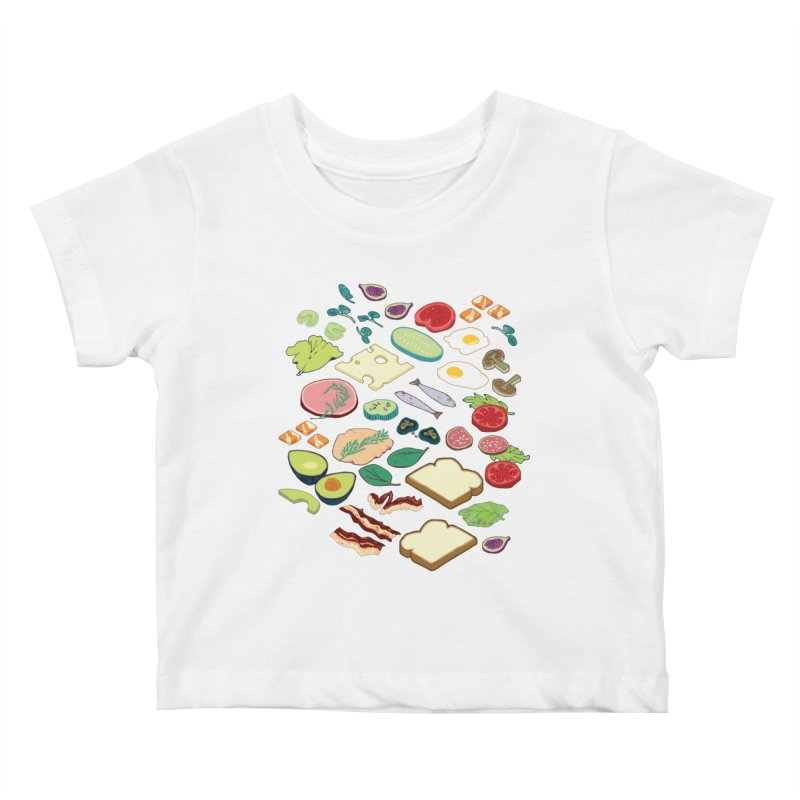 Some Assembly Required Kids Baby T-Shirt by bad arithmetic