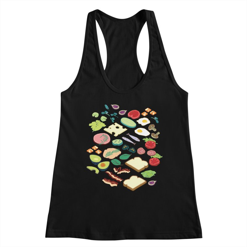 Some Assembly Required Women's Racerback Tank by bad arithmetic