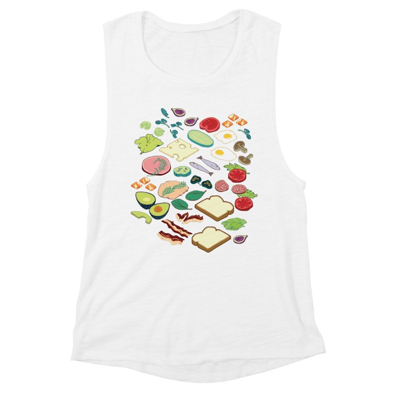 Some Assembly Required Women's Muscle Tank by bad arithmetic