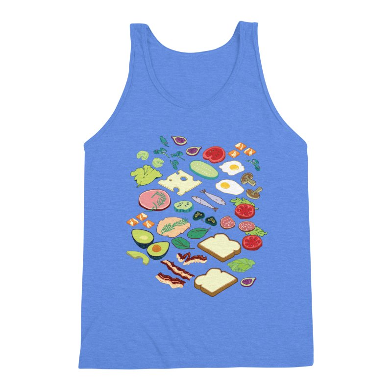 Some Assembly Required Men's Triblend Tank by bad arithmetic