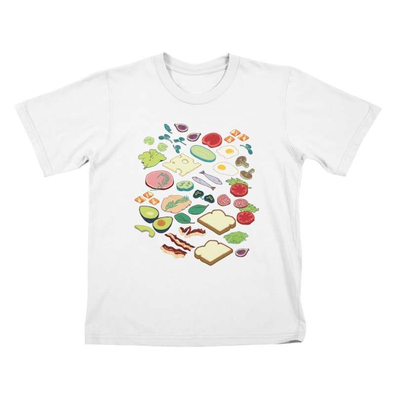 Some Assembly Required Kids T-Shirt by bad arithmetic
