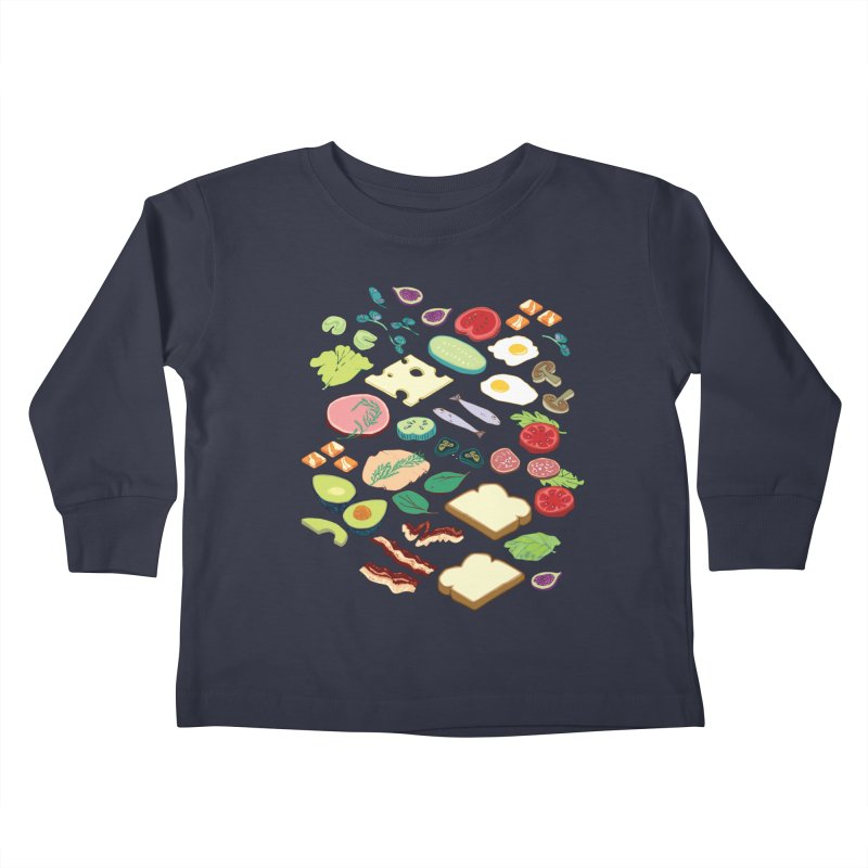 Some Assembly Required Kids Toddler Longsleeve T-Shirt by bad arithmetic