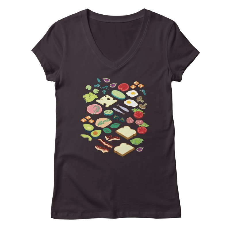 Some Assembly Required Women's Regular V-Neck by bad arithmetic