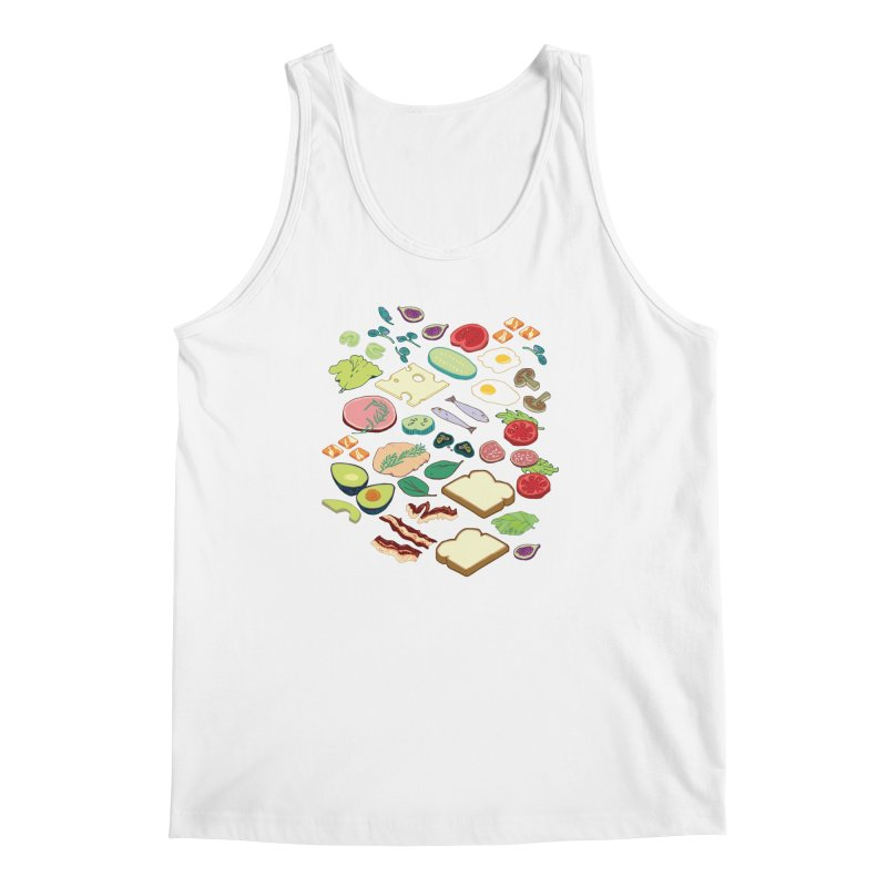 Some Assembly Required Men's Regular Tank by bad arithmetic