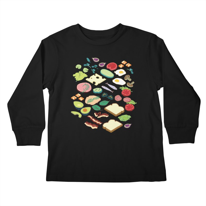 Some Assembly Required Kids Longsleeve T-Shirt by napiform clip art
