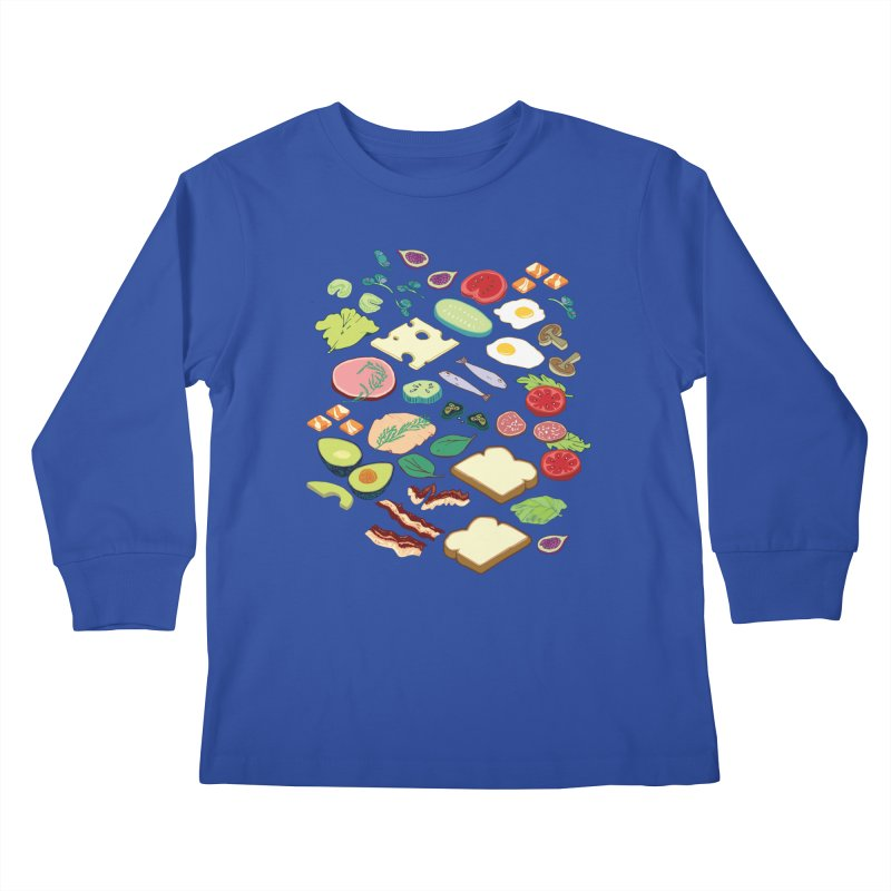 Some Assembly Required Kids Longsleeve T-Shirt by bad arithmetic
