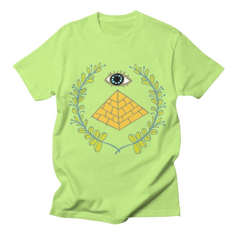 Pyramid <o> Scheme Men's T-Shirt by bad arithmetic