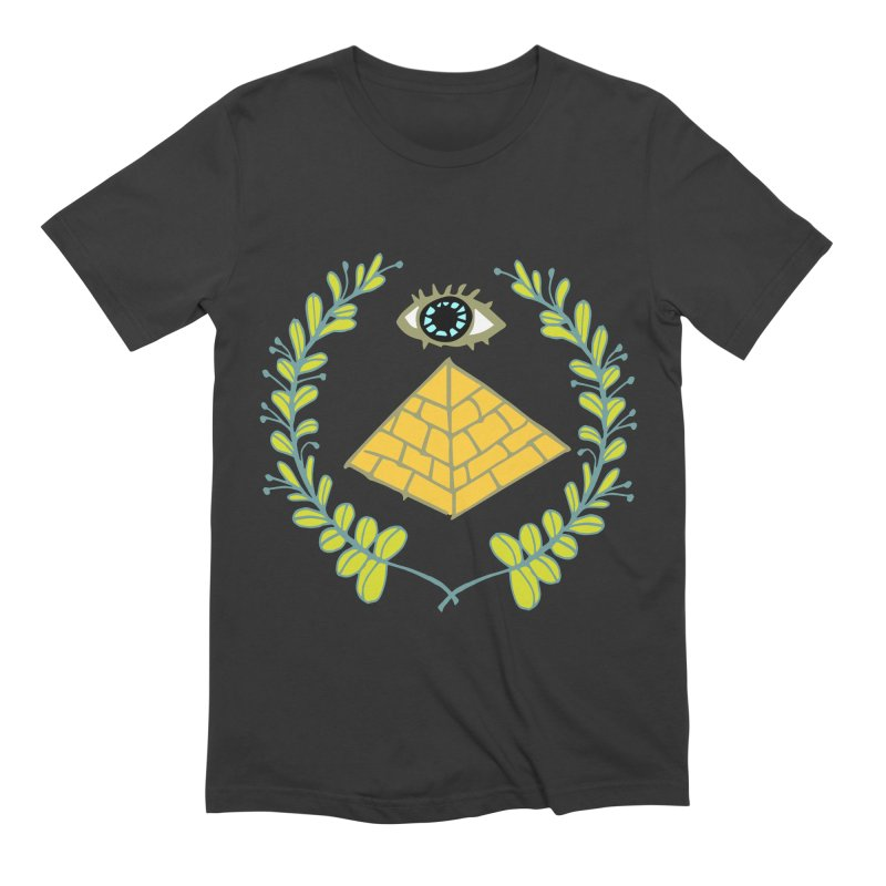 Pyramid <o> Scheme Men's Extra Soft T-Shirt by bad arithmetic