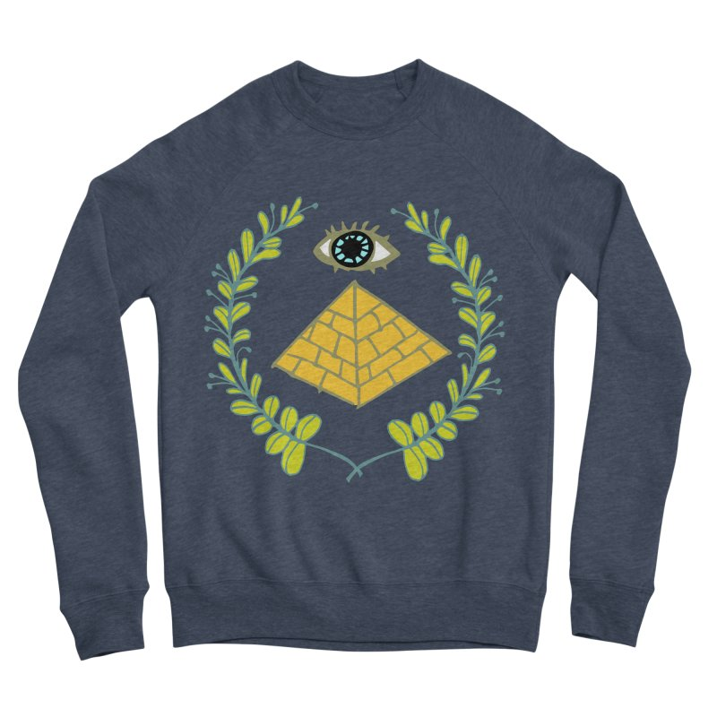 Pyramid <o> Scheme Women's Sponge Fleece Sweatshirt by bad arithmetic