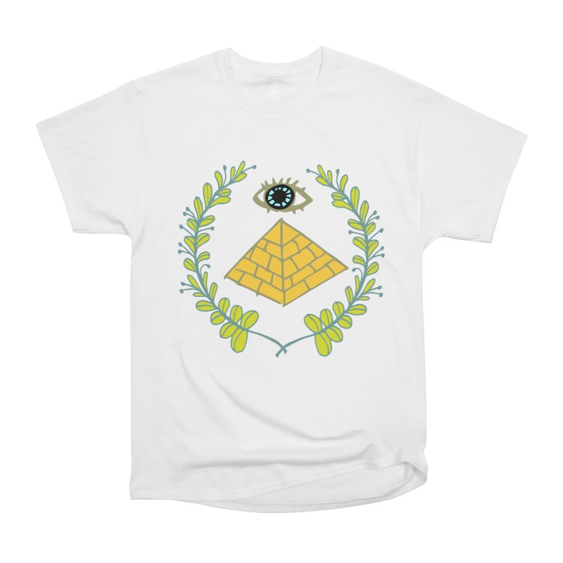 Pyramid <o> Scheme Men's Heavyweight T-Shirt by bad arithmetic