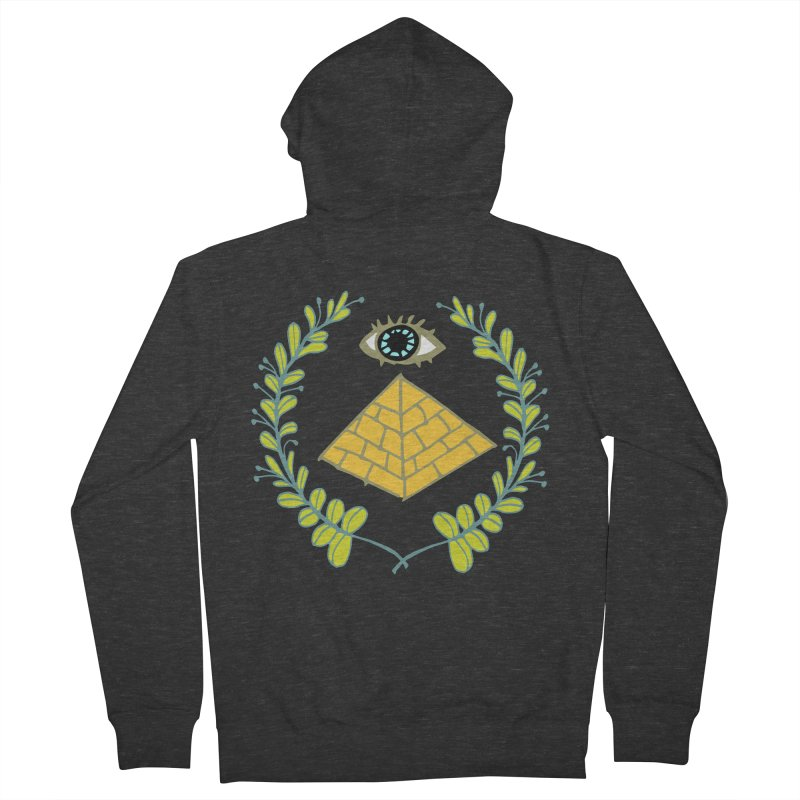 Pyramid <o> Scheme Women's French Terry Zip-Up Hoody by bad arithmetic