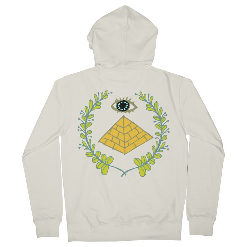 Pyramid <o> Scheme Men's French Terry Zip-Up Hoody by bad arithmetic