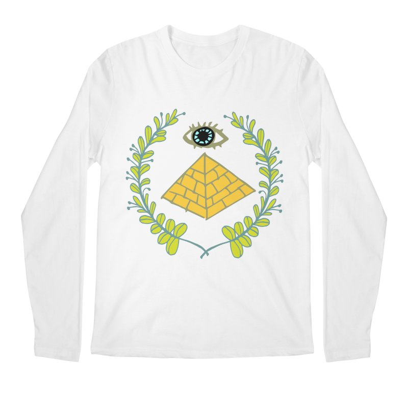 Pyramid <o> Scheme Men's Regular Longsleeve T-Shirt by bad arithmetic
