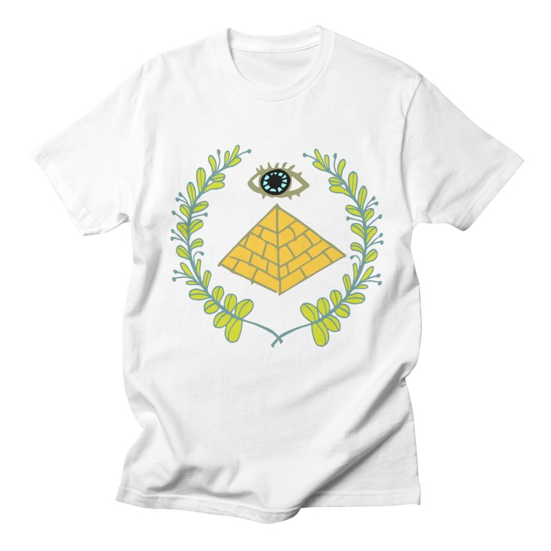 Pyramid <o> Scheme Men's Regular T-Shirt by bad arithmetic