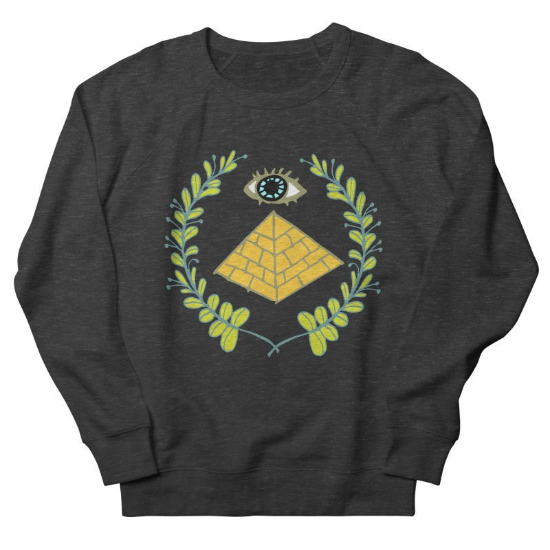 Pyramid <o> Scheme Women's French Terry Sweatshirt by bad arithmetic