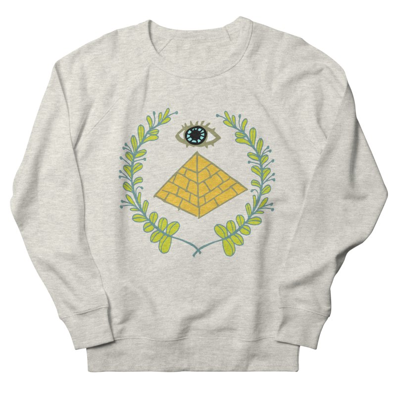 Pyramid <o> Scheme Men's French Terry Sweatshirt by bad arithmetic