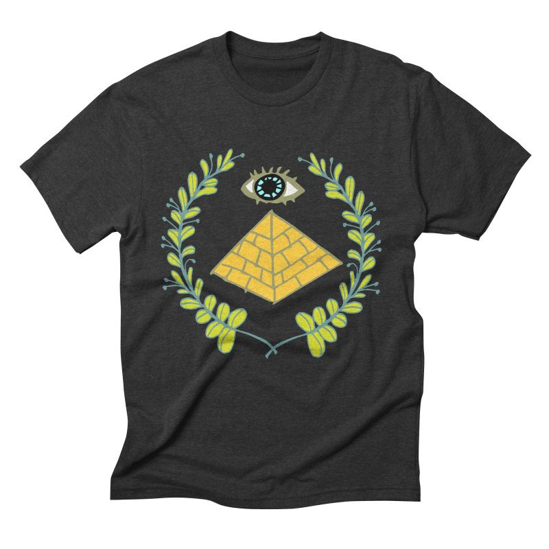 Pyramid <o> Scheme Men's Triblend T-Shirt by bad arithmetic
