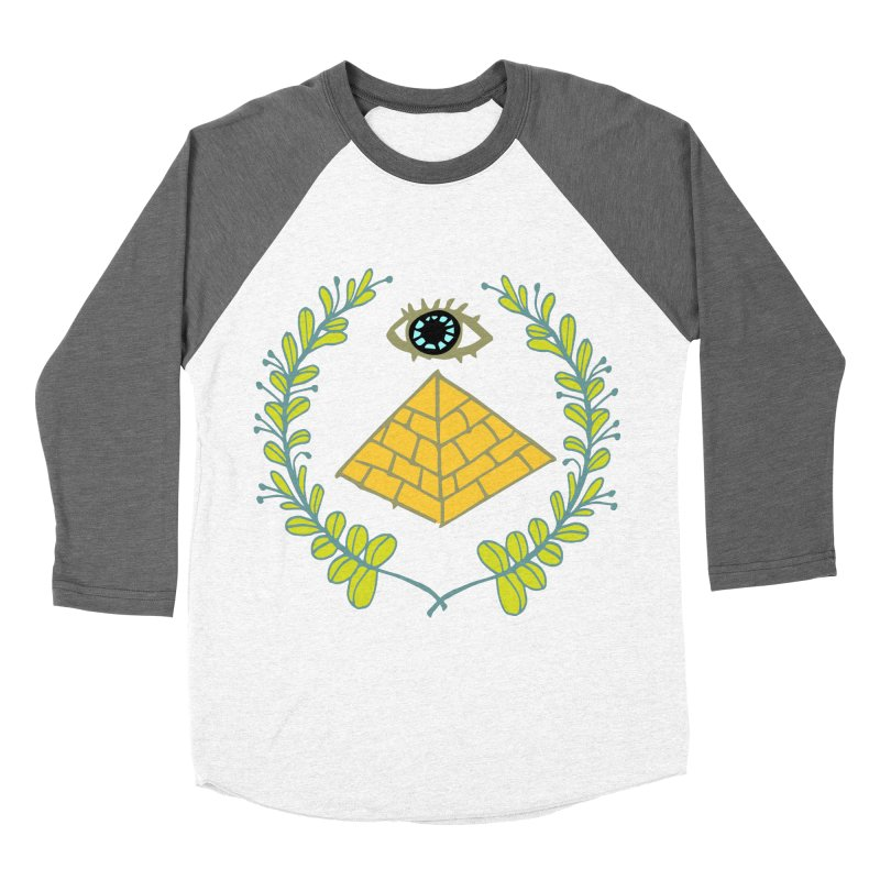 Pyramid <o> Scheme Women's Baseball Triblend Longsleeve T-Shirt by bad arithmetic